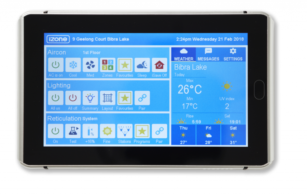 iZone App Smart Aircon Display