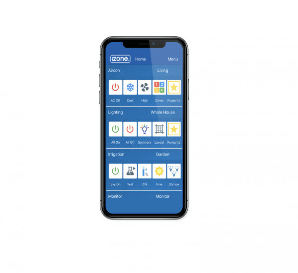 iZone mobile app